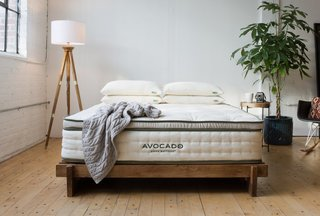 If you want to wake up energized while keeping colds, flus, and backaches at bay, consider investing in a high-quality mattress. Made with 100 percent natural latex and organic cotton, the eco-friendly Avocado Green Mattress is an ideal choice for getting a good night's sleep. This mattress is also free from chemical adhesives and VOCs, and is equipped with an internal support coil system that offers proper hip, shoulder, and back alignment.