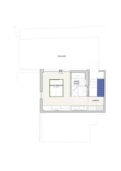 Here is the upper-level floor plan.