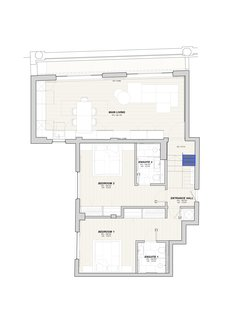 A look at the lower-level floor plan.