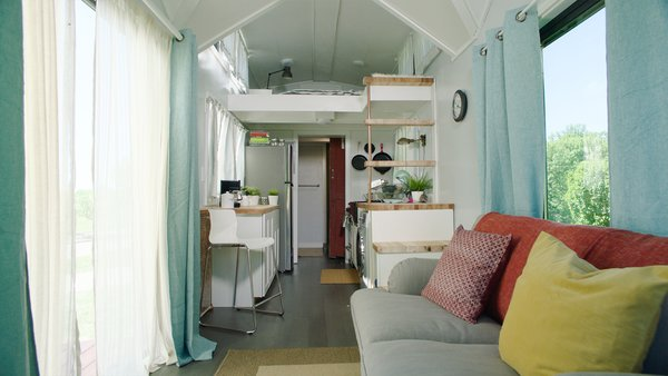 Dubbed the RE/MAX Tiny Home for Tiny Tots, this collaborative project taps into the creative energies of the students at Henry Ford College's Architecture/Construction Technology program, who got the chance to apply their knowledge through the semester-long project.