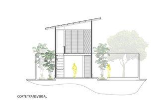 Core transversal drawing