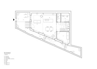 The ground floor plan.