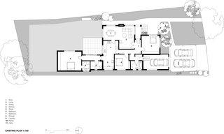 Floor plan before the renovation