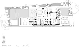Floor plan after the renovation