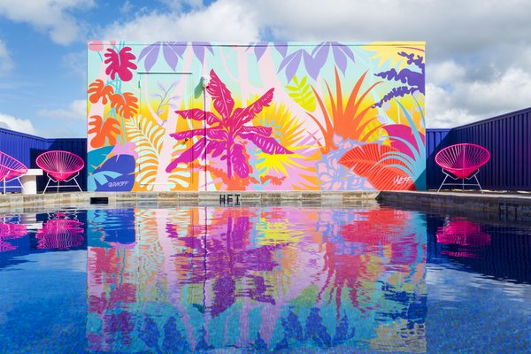 Technicolor Dreams Await at This Renovated Hotel in Honolulu