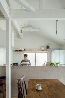 The owners wanted the house to have more windows and brighter interiors, as well as softer, more contemporary aesthetics.