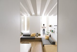 A Tiny Florence Flat Is Reborn as an Architect's Live/Work Space - Photo 2 of 8 -