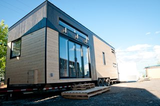 """Tiny homes are becoming more popular because people are starting to realize that tiny houses can work for different types of households, not just for young, adventurous couples,"" says Beaudoin."