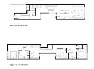 The St. George Street House floor plan.