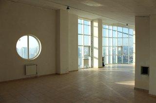 Before: the architects also kept the existing porthole windows.