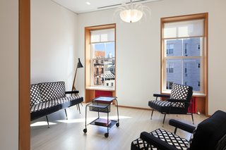 """Aside from Bisazza tiles, """"all American materials"""" were used for the fitouts and finishings."""