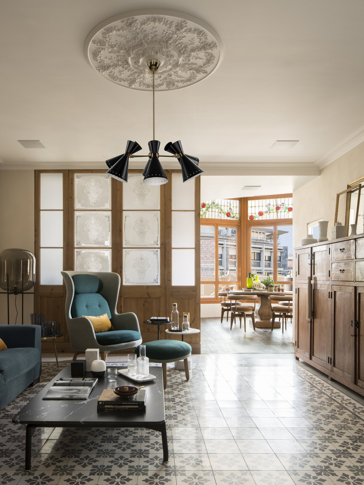 A 1930s Barcelona Apartment Is Revitalized Into an Airy Abode