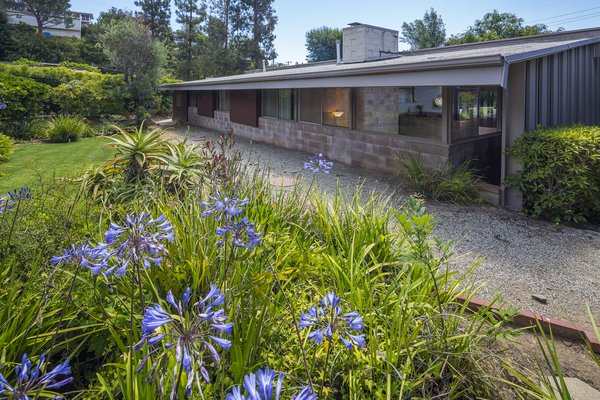 Surrounded by plenty of spacious green gardens, the house was designed to protect its owners' privacy.