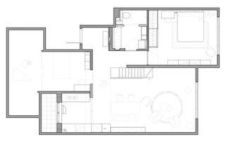 The Starburst House Floor Plan