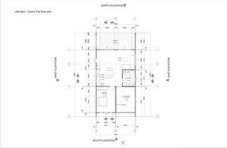 Twin Barns granny flat floor plan