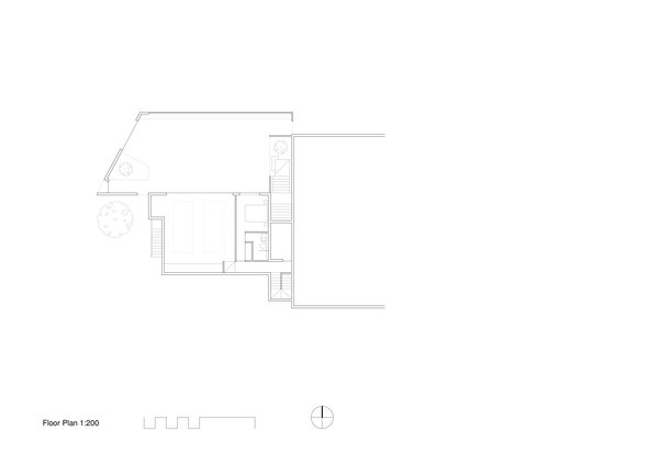 B&B Residence floor-plan drawing