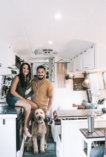 Nate and Taylor have been living in Augustine for nine months now, and still enjoy many things about small space living.