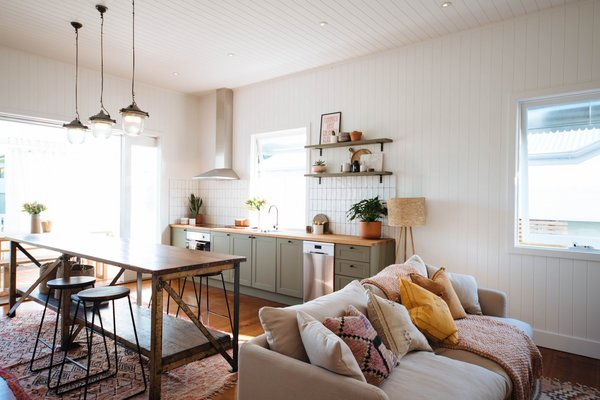Before & After: A Rundown Brisbane Cottage Turns Into a Ravishing, Modern Home