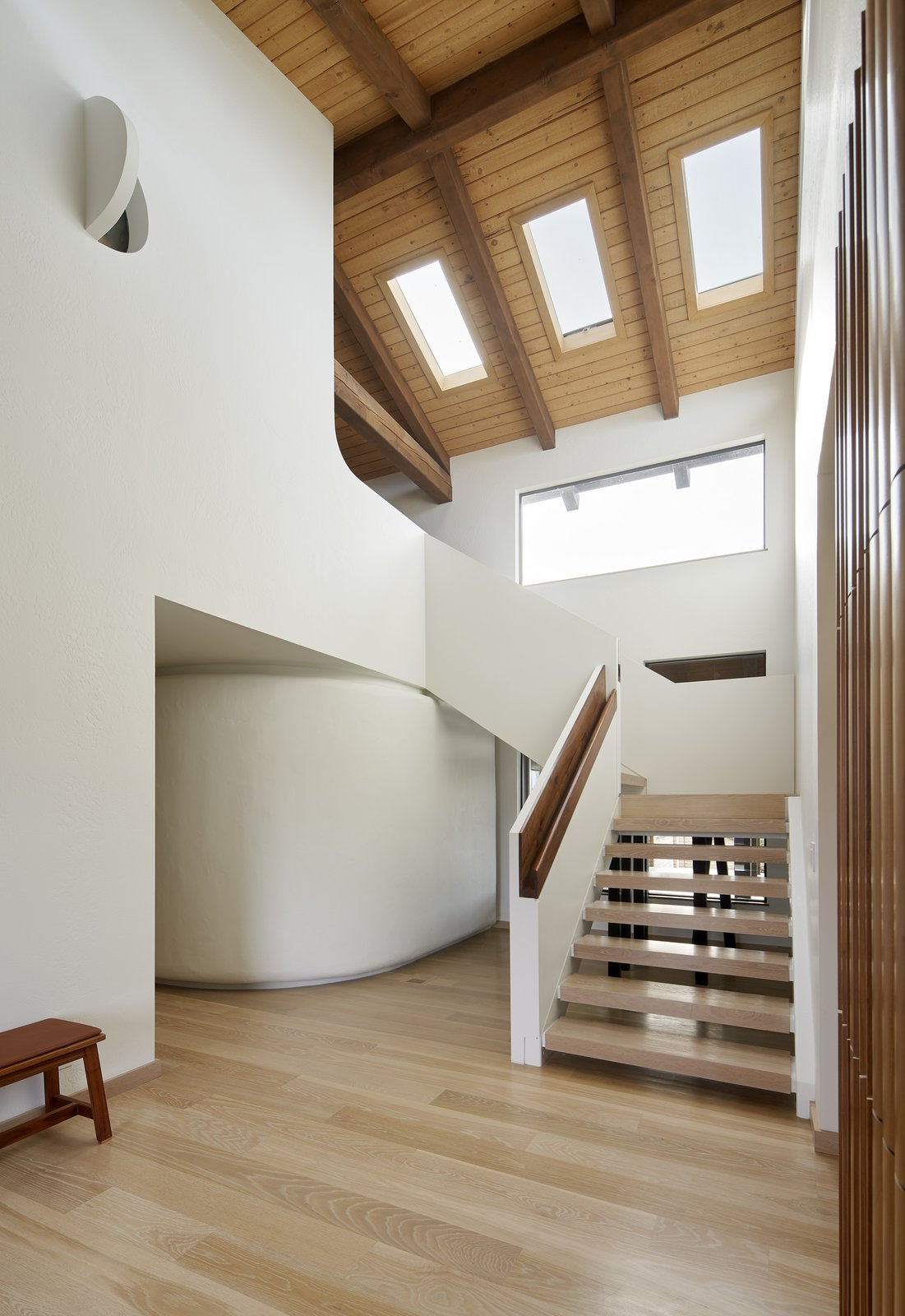 After: House for Grandparents staircase
