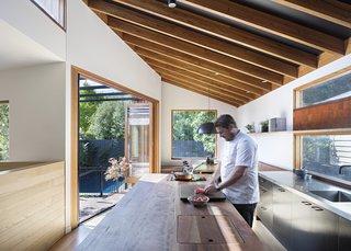 Chef Scott Pickett's Renovated Bungalow Stars a Dreamy Kitchen