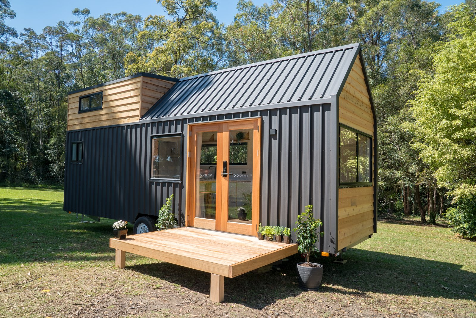 This Innovative Tiny Home With a Slide-Out Lounge Starts at $99K