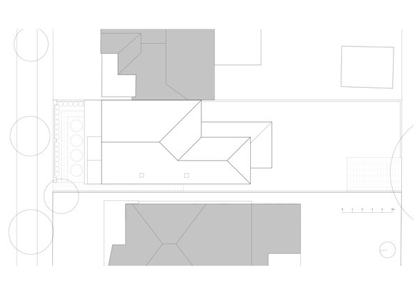 Existing roof plan