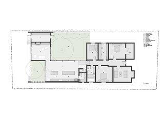 Willisdene House floor plan