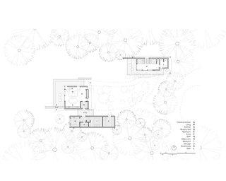 Hood Cliff Retreat floor plan drawing