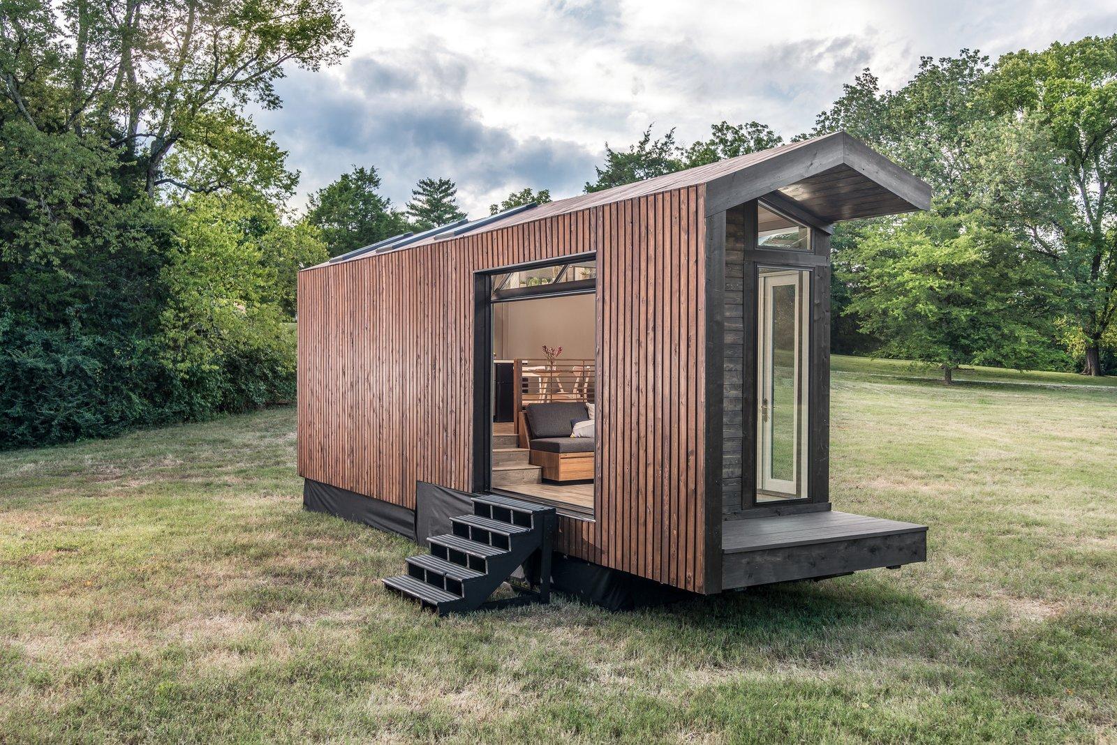 This Solar Powered Tiny House Has A Gorgeous Light Filled
