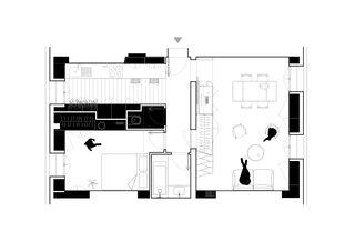 Hike first level floor plan