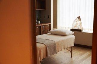 A treatment room.