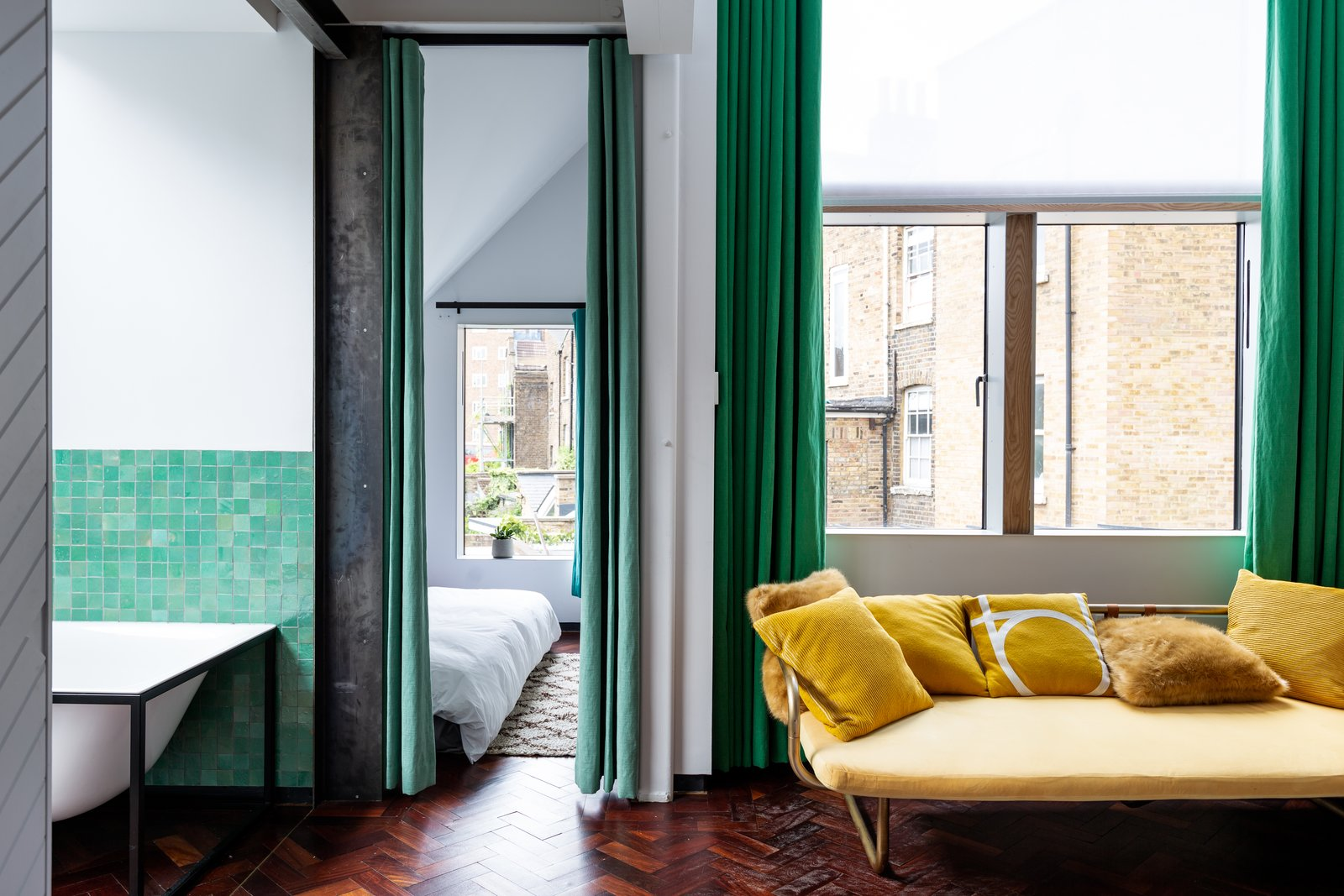An Architect Couple Play With Texture in Their Handcrafted London Home