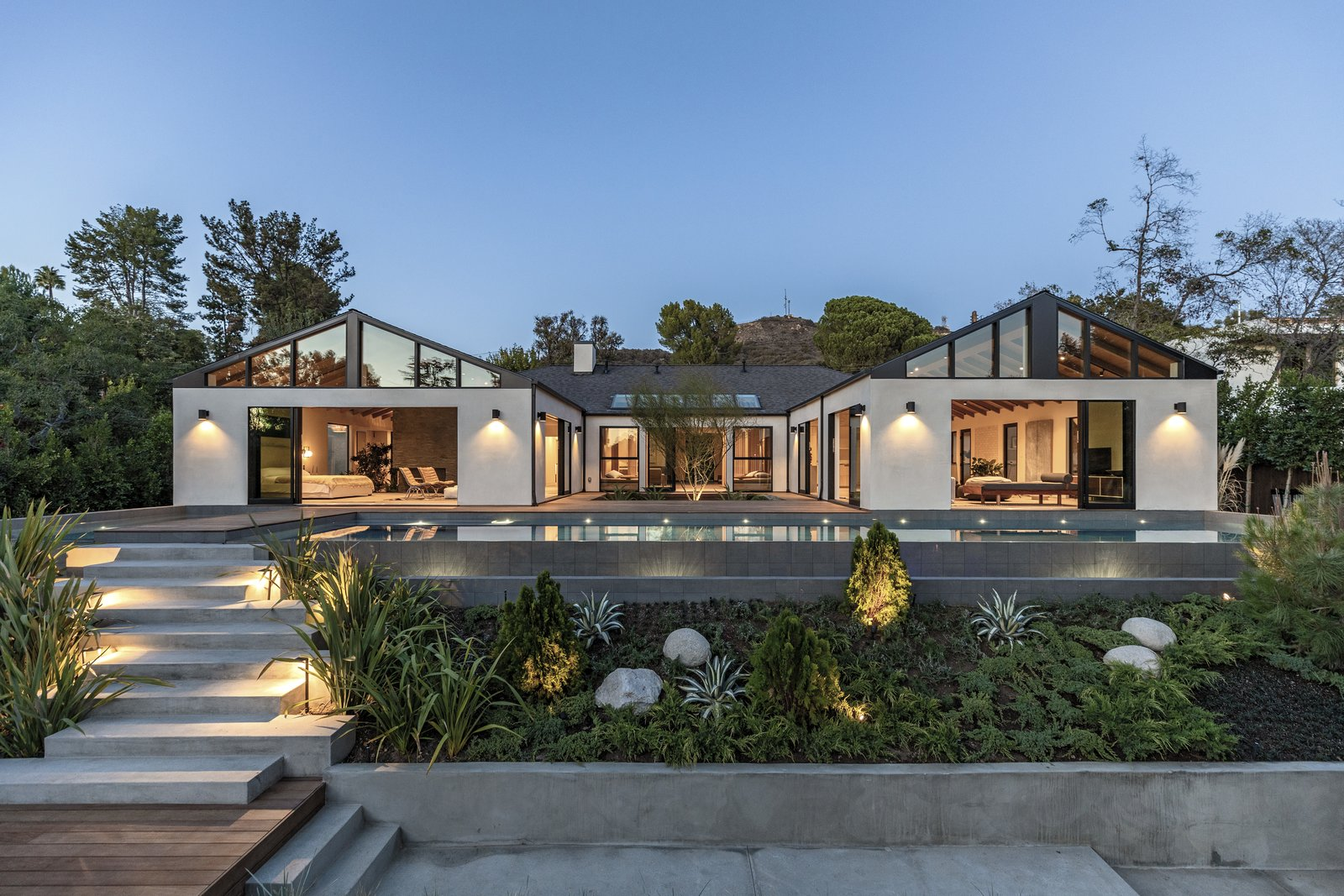 A Renovated Hollywood Home in a Star-Studded Enclave Wants $6.5M