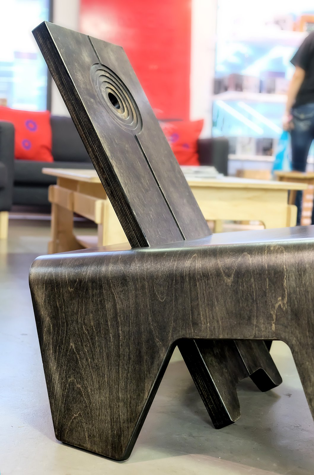 Photo 3 of 5 in African Designs Go Mainstream: Jomo Tariku Showcases The Birth Chair II at Dubai Design Week