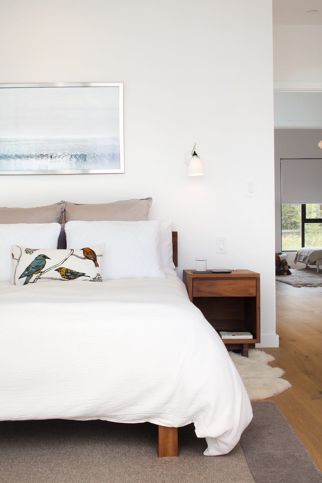 Bedroom and Bed  27th Street - Noe Valley by patrick perez/designpad architecture
