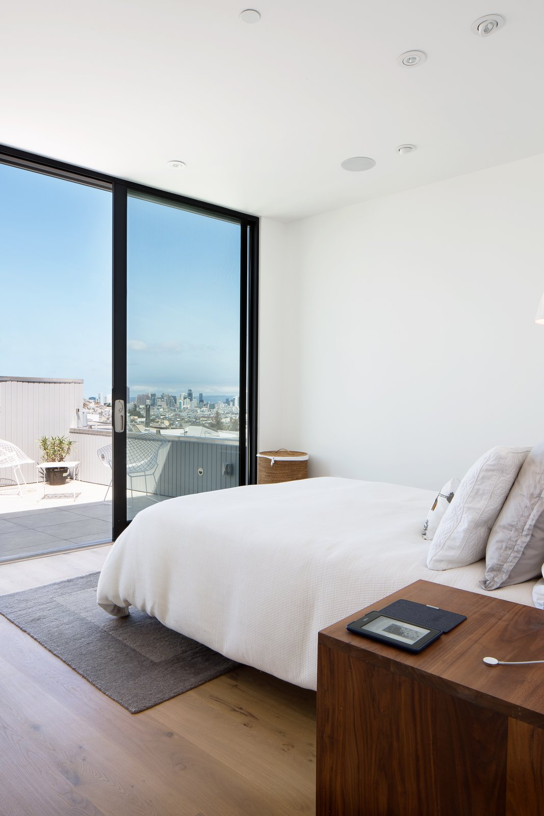 Master bedroom Tagged: Bedroom, Bed, and Medium Hardwood Floor.  27th Street - Noe Valley by patrick perez/designpad architecture