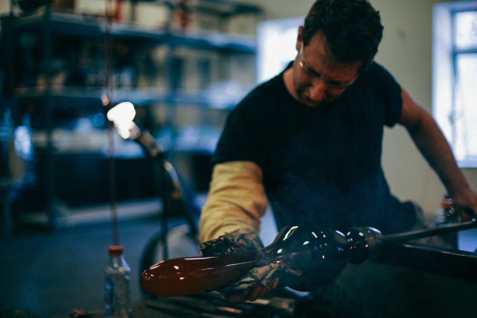 Meet Lorin Silverman of Eidos Glass
