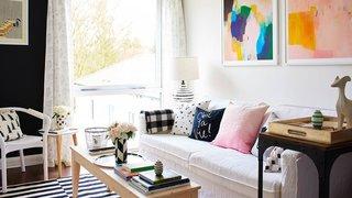 Elevate your IKEA sofa à la Bright.Bazaar