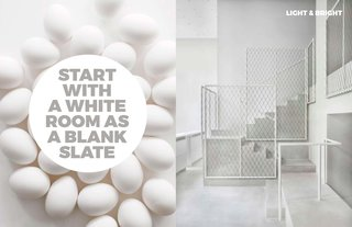 Left: Image of eggs by the wonderful Photographer Amy Neunsinger, Right: Work by leading architects David Chipperfield Architects
