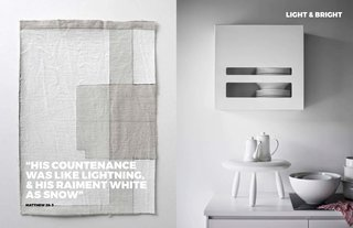 Left: By artist Jen Lee, Untiled, Image from Crude Vessels, Right: Still Life From Hitta Hem