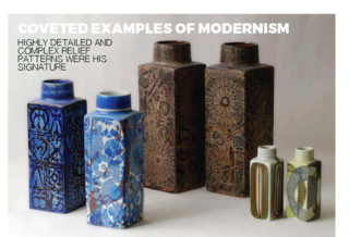 The iconic Baca vases