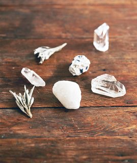 Crystals can serve many functions in your home space. Source: Asami Zenri/Ashley Neese