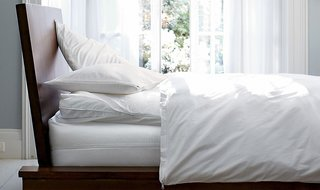 Mattress, pillow and duvet protectors reduce dust mites and guard against spills; Source: The Company Store