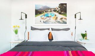 """Poolside Glamour"" by Slim Aarons in Irvine; Source: Framebridge/Parachute"