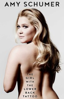 """""""The Girl With the Lower Back Tattoo"""" book cover Thaw out the chill with this uproariously funny collection of essays about relationships; Source: Simon and Schuster"""