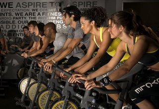 Don't let the workouts stop just because the wedding is over; Source: SoulCycle