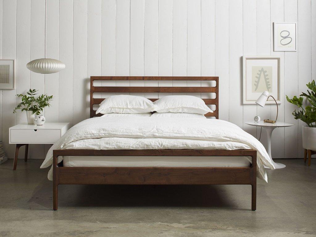 listing zoom il wood platform bed frame no cherry storage fullxfull modern