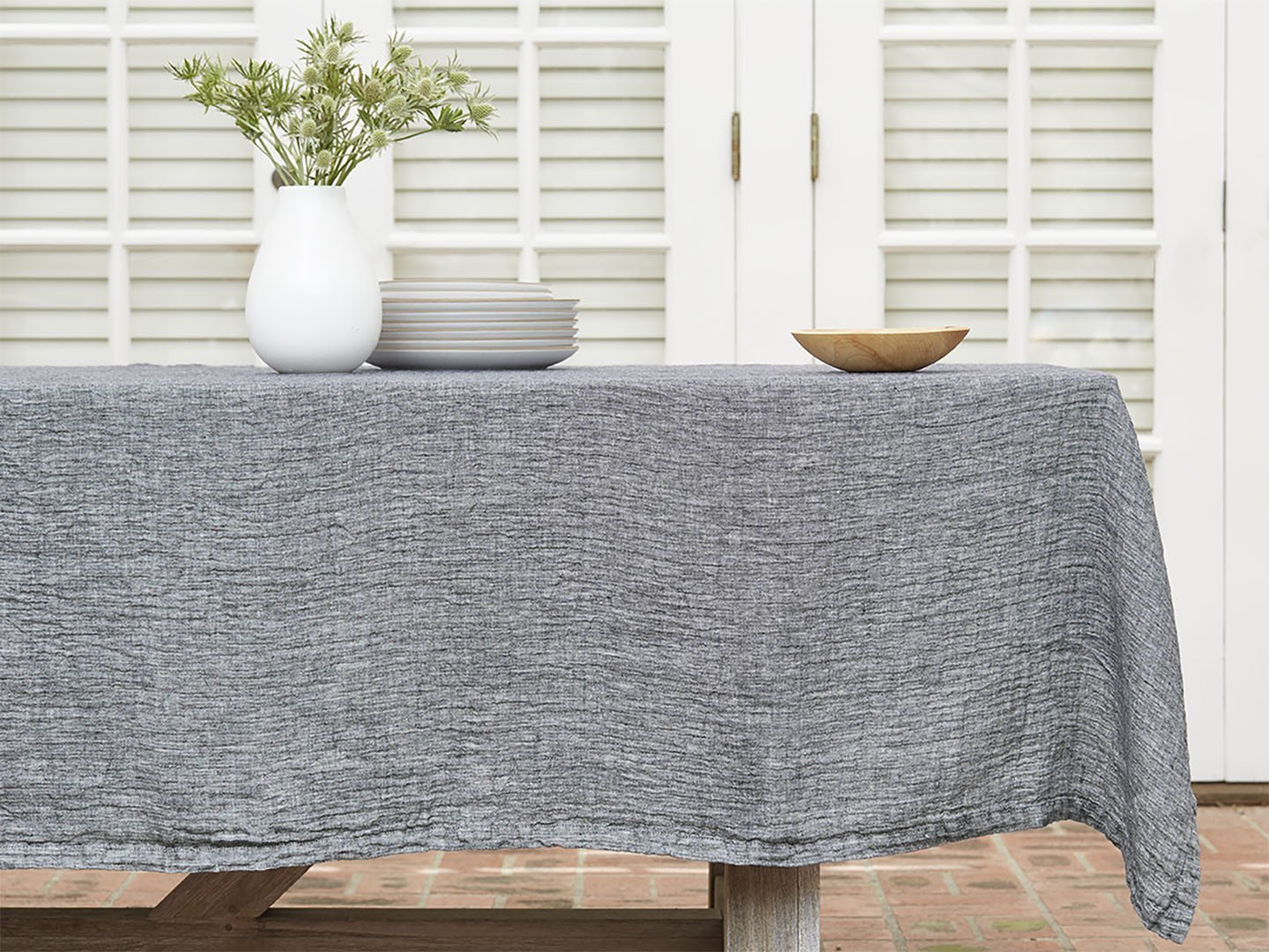 Photo 1 of 1 in Parachute Linen Tablecloth