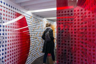 Entrance DISPOSITION installation during Dutch Design Week 2016