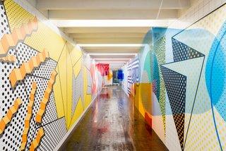 Hallway DISPOSITION installation Dutch Design Week 2016